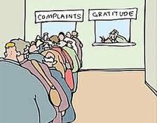 complaints gratitude
