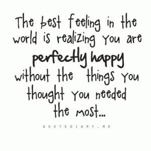 Perfectly happy