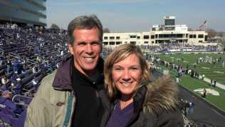 Sam and Rhonda at KState