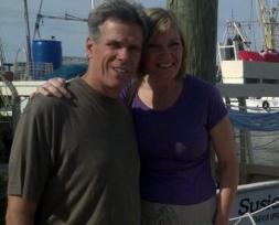 Sam and Rhonda in Florida