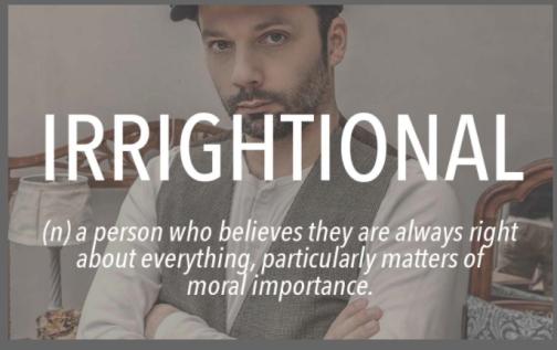 Irrightional