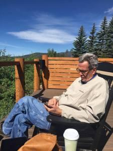 Sam relaxing