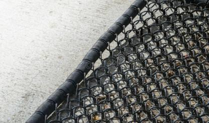 Metal doormat