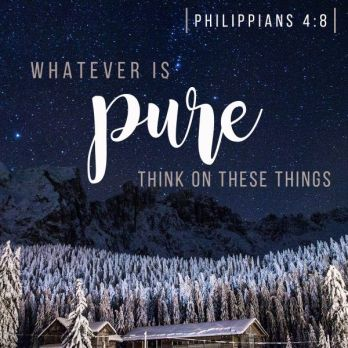whatever is pure